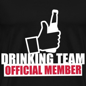 Drinking Team Beer Like T-shirts - Herre premium T-shirt