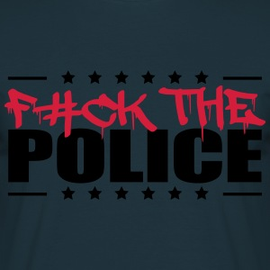 Logo Design Fuck The Police T-Shirts - Men's T-Shirt