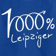 Motiv ~ Teenager T-Shirt 1000% Leipziger