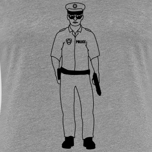 Guy homme police cool Tee shirts - T-shirt Premium Femme