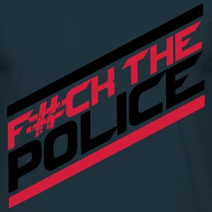 Cool Fuck la Police Logo Design Tee shirts - T-shirt Homme