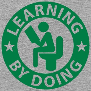 Learning by doing Shirts - Teenage Premium T-Shirt