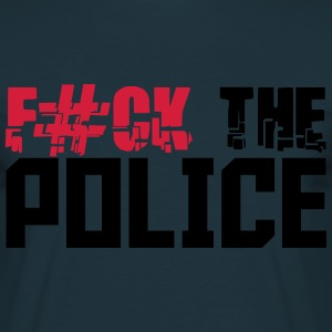 Cool Fuck The Police Design T-Shirts - Men's T-Shirt