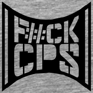 Cool Fuck CPS politiet Logo T-shirts - Herre premium T-shirt