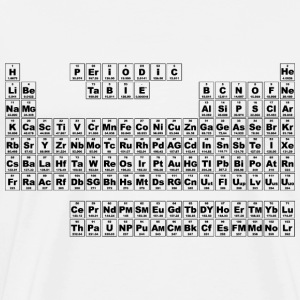 Periodic Table - Small (v3) T-Shirts - Men's Premium T-Shirt