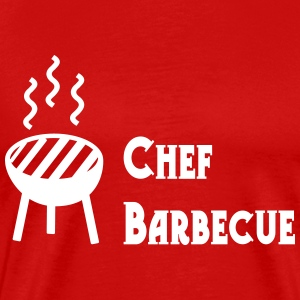 Chef Barbecue Tee shirts - T-shirt Premium Homme