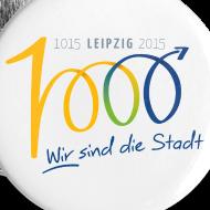Motiv ~ Button - 1000 Jahre Leipzig
