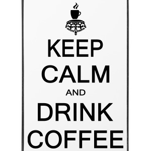 Keep calm and drink coffee Phone & Tablet Cases - iPhone 4/4s Hard Case