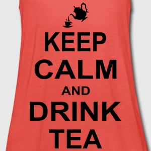 Keep Calm and Drink Tea Tops - Women's Tank Top by Bella