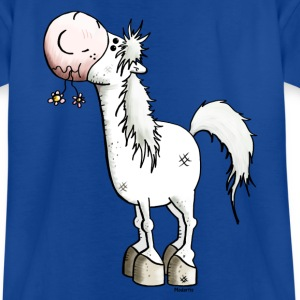 Dromerige Paard - Paarden - Poney - Dier Shirts - Teenager T-shirt