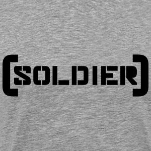 Soldier Logo Design T-Shirts - Men's Premium T-Shirt