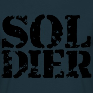 Soldier Soldier Stamp Design T-Shirts - Men's T-Shirt