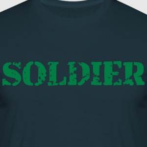 Soldier soldier stamp T-Shirts - Men's T-Shirt