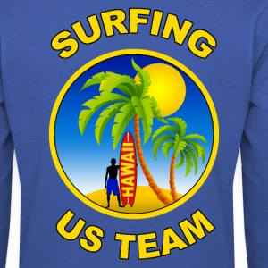 surfing us team Sweat-shirts - Sweat-shirt Homme