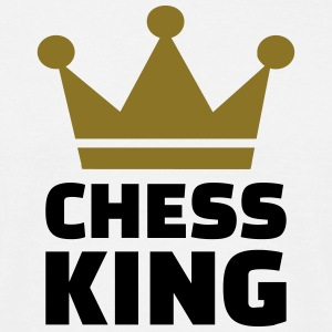 Chess King T-Shirts - Männer T-Shirt