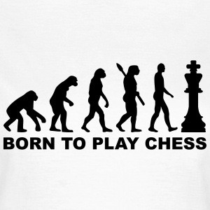 Evolution Chess T-Shirts - Frauen T-Shirt