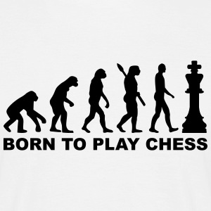 Evolution Chess T-Shirts - Männer T-Shirt