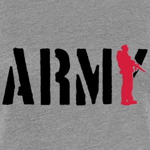 ARMY stamp soldier T-Shirts - Women's Premium T-Shirt
