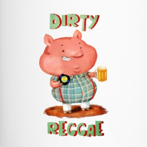 Dirty Reggae Pig Bottles & Mugs - Travel Mug