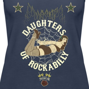 Daughters Of Rockabilly Vintage - Débardeur Premium Femme