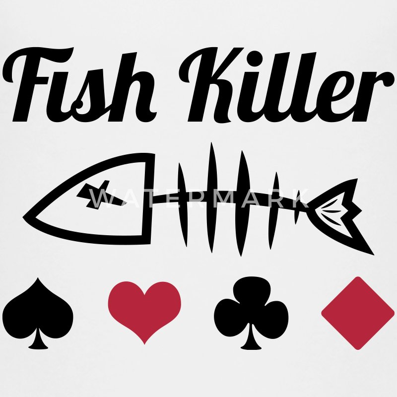 Poker : Fish Killer Shirts - Teenage Premium T-Shirt