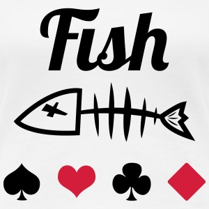 Poker : Fish T-shirts - Vrouwen Premium T-shirt