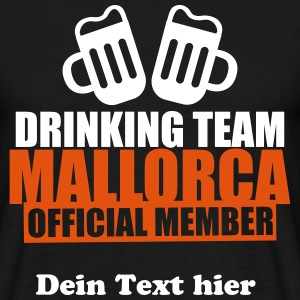 Drinking Team Mallorca T-shirts - Mannen T-shirt