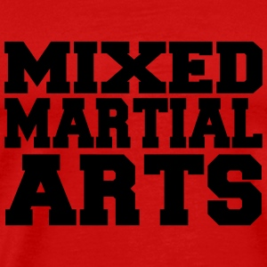 Mixed Martial Arts T-shirts - Premium-T-shirt herr