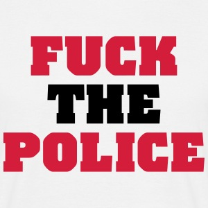 Fuck the Police Tee shirts - T-shirt Homme