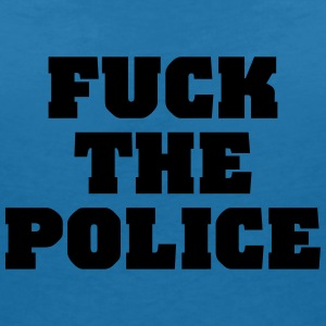 Fuck the Police T-Shirts - Women's V-Neck T-Shirt