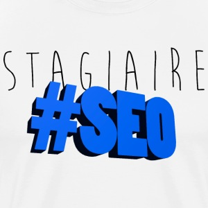 stagiaire-SEO bleu Tee shirts - T-shirt Premium Homme