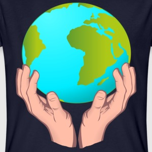 hands_and_earth T-Shirts - Männer Bio-T-Shirt