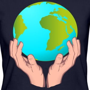 hands_and_earth T-Shirts - Frauen Bio-T-Shirt