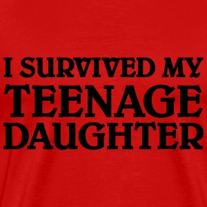 I survived my teenage daughter Tee shirts - T-shirt Premium Homme