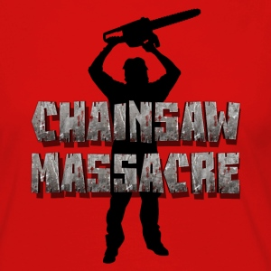 Chainsaw Massacre - Horror / Splatter / Killer Long Sleeve Shirts - Women's Premium Longsleeve Shirt