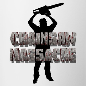 Chainsaw Massacre - Horror / Splatter / Killer Bottles & Mugs - Contrasting Mug