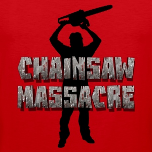 Chainsaw Massacre - Horror /  motosega assassino  Canotte - Canotta premium da uomo