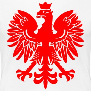 Polish Red Eagle T-Shirts - Women's Premium T-Shirt