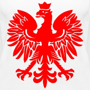 Polish Red Eagle Tops - Women's Premium Tank Top
