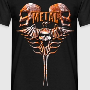 Metal Power T-Shirts - Männer T-Shirt