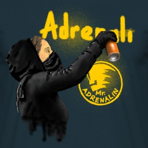 graffiti Mr. Adrenalin T-shirts - T-shirt herr