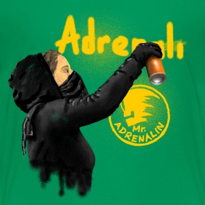 graffiti adrenalin T-Shirts - Teenager Premium T-Shirt