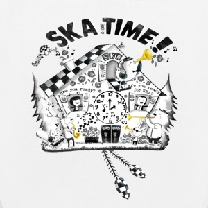 Ska Time Cuckoo Clock Bags & Backpacks - EarthPositive Tote Bag
