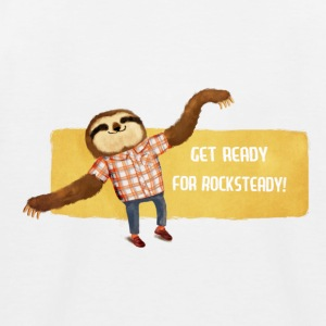 Rocksteady Sloth Shirts - Kids' Baseball T-Shirt
