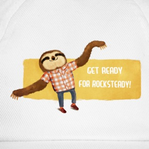 Rocksteady Sloth Caps & Hats - Baseball Cap