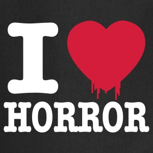 i love horror  Aprons - Cooking Apron