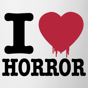 i love horror Flasker & krus - Kop/krus