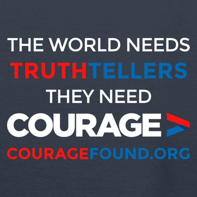The World Needs Truthtellers  Women's Hoodie