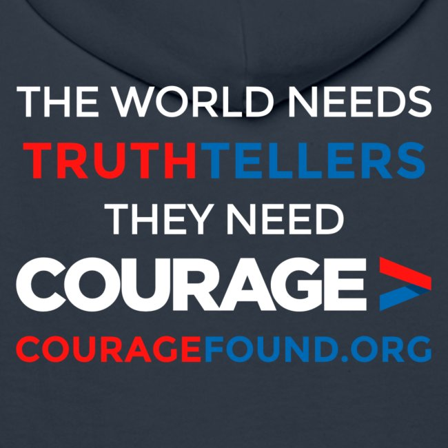 The World Needs Truthtellers Men's Hoodie