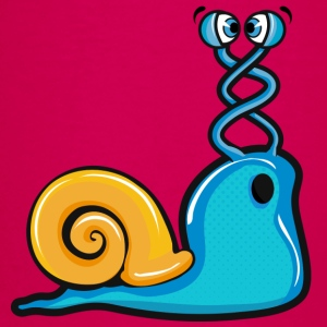 a cross-eyed snail Shirts - Kids' Premium T-Shirt